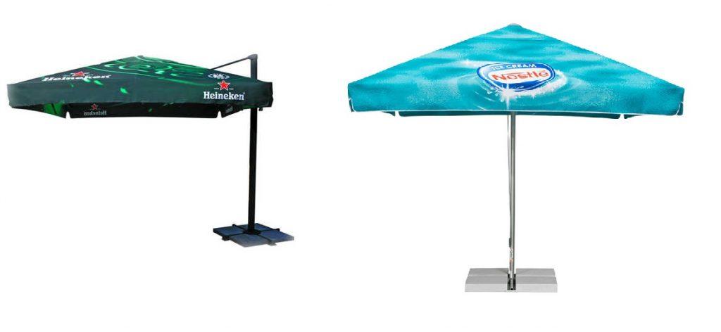 parasole reklamowe restauracyjne