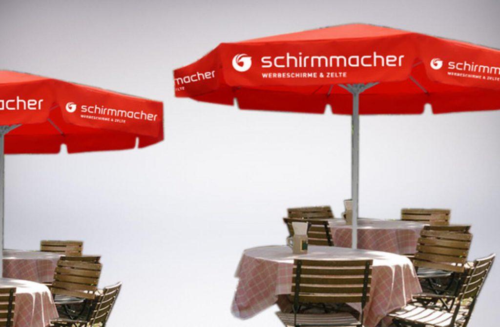 parasole restauracyjne reklamowe duże do ogródków